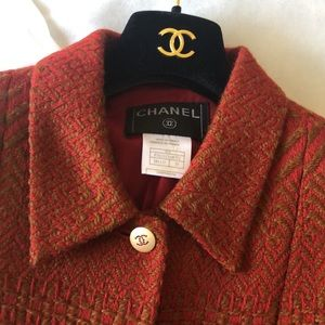 Authentic Vintage Chanel Wool Jacket